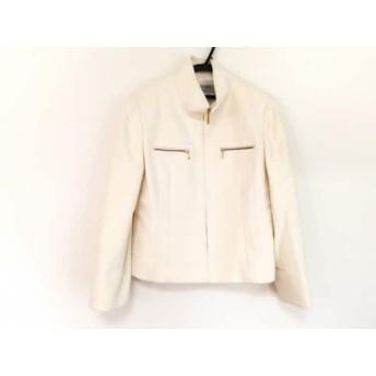【中古】 ヴァンドゥ オクトーブル 22OCTOBRE ジャケット サイズ46 XL レディース アイボリー