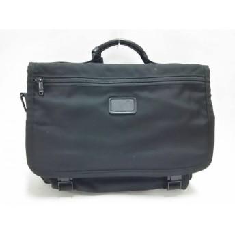 【中古】 トゥミ TUMI ビジネスバッグ - 黒 TUMIナイロン
