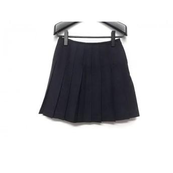 【中古】 ヨークランド YORKLAND ミニスカート サイズ11AR M レディース 黒