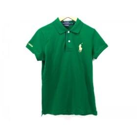 【中古】 ラルフローレンゴルフ RalphLaurenGOLF 半袖ポロシャツ サイズS レディース グリーン