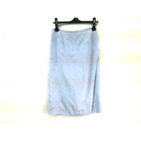 【中古】 ラウンジドレス Loungedress 巻きスカート サイズ1 S レディース ブルー