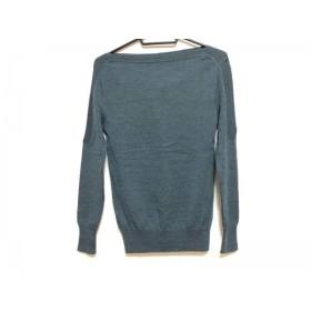 【中古】 ヴェロニク・ブランキーノ 長袖セーター サイズ36 S レディース ダークグリーン