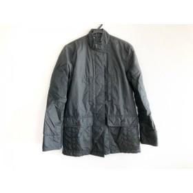 【中古】 ダナキャラン DKNY コート レディース 黒 ショート丈/冬物
