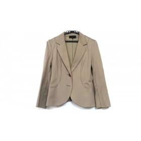 【中古】 アンタイトル UNTITLED ジャケット サイズ2 M レディース ライトブラウン