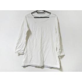 【中古】 パラスパレス Pallas Palace 長袖Tシャツ レディース 白 ネイビー