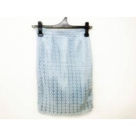 【中古】 ザ ヴァージニア The Virgnia スカート サイズ36 S レディース ライトブルー