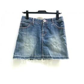 【中古】 シェロー chereaux ミニスカート サイズ38 M レディース ブルー