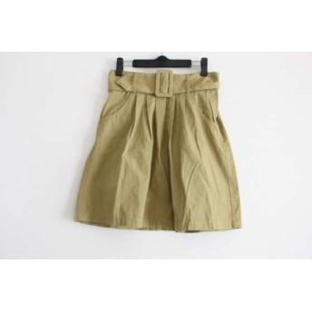 【中古】 ニトカ nitca スカート サイズF2 レディース ライトグリーン