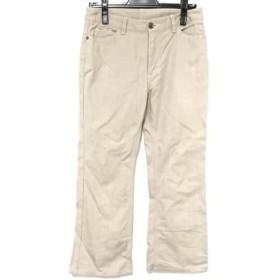 【中古】 ダックス DAKS パンツ サイズ40 L レディース ベージュ