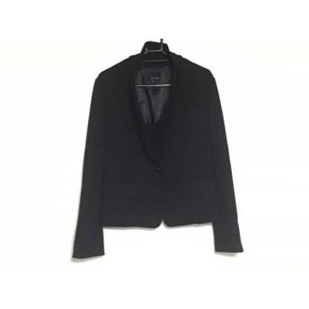 【中古】 ヴァンドゥ オクトーブル 22OCTOBRE ジャケット サイズ40 M レディース 黒