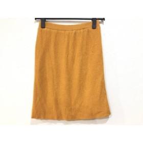 【中古】 チヴィディーニ CIVIDINI ロングスカート サイズ42 M レディース オレンジ