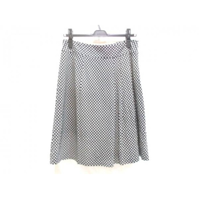 【中古】 イエナ IENA スカート サイズ40 M レディース ブラック 白
