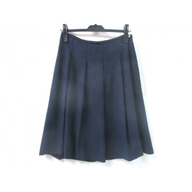 【中古】 ヒューマンウーマン HUMAN WOMAN スカート サイズM レディース ネイビー