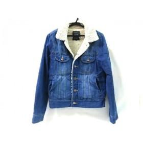 【中古】 ダブルクローゼット w closet ジャケット サイズF レディース ブルー ウール