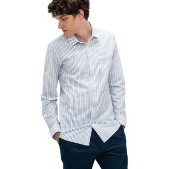 オルタネイトストライプシャツ(長袖)