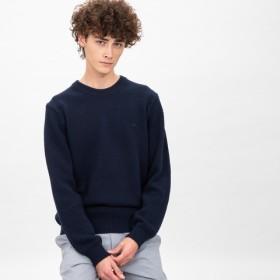 ミドルゲージクルーネックニットセーター