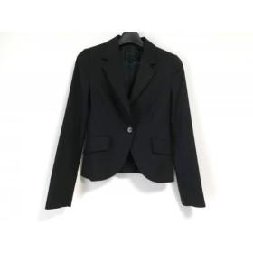 【中古】 アンタイトル UNTITLED ジャケット サイズ0 XS レディース 黒