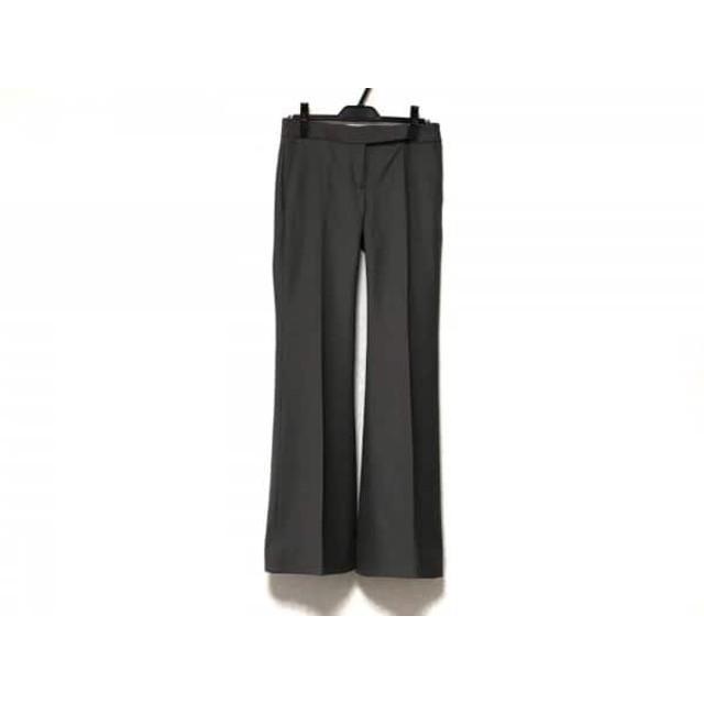 【中古】 セオリー theory パンツ サイズ2 S レディース 美品 ダークグリーン