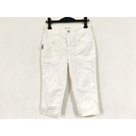 【中古】 アニエスベー agnes b パンツ サイズ38 M レディース 白