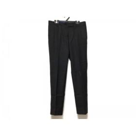 【中古】トゥモローランド TOMORROWLAND パンツ サイズ36 S レディース 黒 collection/REGGIANI スペシャル特価 20190323
