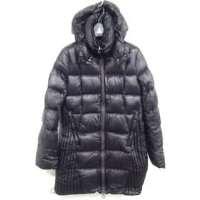 【中古】 タトラス TATRAS ダウンコート サイズ2 M レディース ダークパープル 冬物