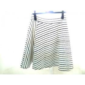 【中古】 アンタイトル UNTITLED スカート サイズ2 M レディース 白 黒