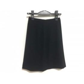 【中古】 アニエスベー agnes b スカート サイズ34 S レディース 黒