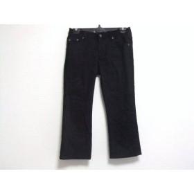 【中古】 バーバリーブルーレーベル Burberry Blue Label パンツ サイズ24 レディース 黒