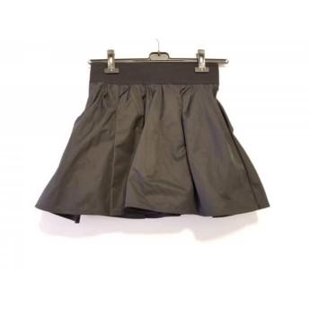 【中古】 ドゥーズィエム DEUXIEME CLASSE ミニスカート サイズ36 S レディース 黒