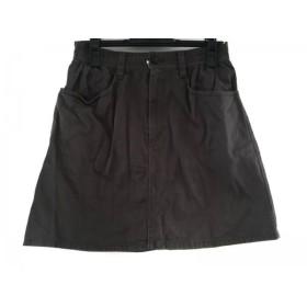 【中古】 ツモリチサト TSUMORI CHISATO スカート サイズ2 M レディース ダークグレー