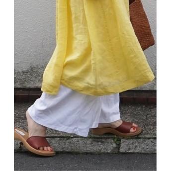 journal standard luxe 【CARETTI / カレッティ】wood sandals ブラウン B 40