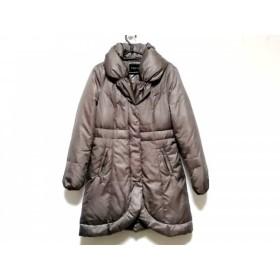 【中古】 インディビ INDIVI ダウンコート サイズ38 M レディース グレー 冬物