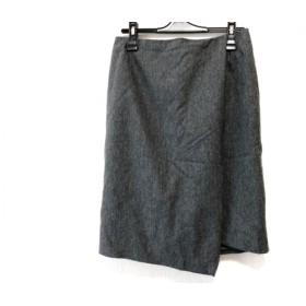 【中古】 ピンキー&ダイアン Pinky & Dianne 巻きスカート サイズ38 M レディース グレー