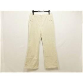 【中古】 スキャパ Scapa パンツ サイズ40 XL レディース アイボリー