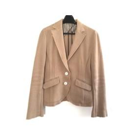 【中古】 ダブルスタンダードクロージング DOUBLE STANDARD CLOTHING ジャケット レディース ベージュ