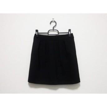 【中古】 セオリー theory ミニスカート サイズ0 XS レディース 黒