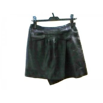 【中古】 ロペピクニック RopePicnic ミニスカート サイズ36 S レディース 黒