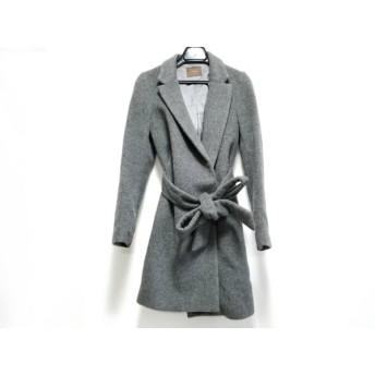 【中古】 マイダルタニアン my D'artagnan コート サイズ36 S レディース グレー 冬物