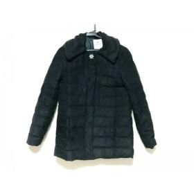 【中古】 ランバンオンブルー LANVIN en Bleu ダウンジャケット サイズ36 S レディース 黒