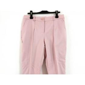 【中古】 テッドベイカー TED BAKER パンツ サイズ2 M レディース 新品同様 ピンク 刺繍
