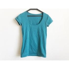 【中古】 セオリー theory 半袖Tシャツ サイズ2 S レディース ブルーグリーン