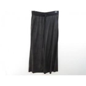 【中古】 バジュラ bajra ロングスカート サイズ3 L レディース ダークグレー 黒
