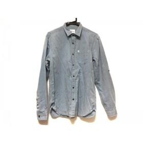 【中古】 ザ ショップ ティーケー THE SHOP TK (MIXPICE) 長袖シャツ サイズXL メンズ ライトブルー
