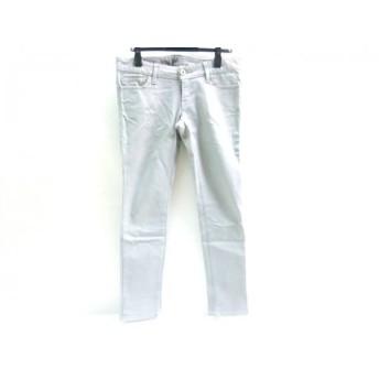 【中古】 マウジー moussy パンツ サイズ26 S レディース グレー