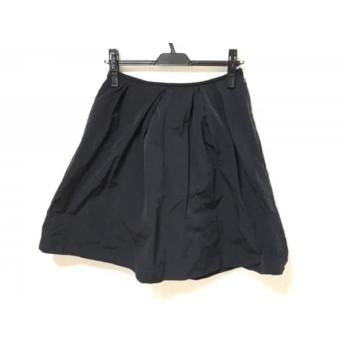 【中古】 マルティニーク martinique スカート サイズ1 S レディース ネイビー