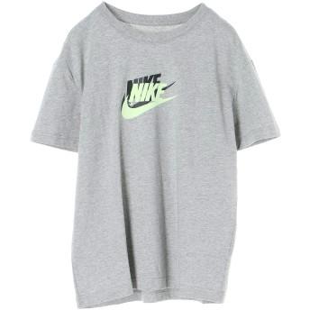 NIKE women's ナイキ ウィメンズ フューチュラ BOY S/S Tシャツ ランニング・トレーニングウェア,ダークグレーヘザー