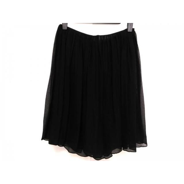 【中古】 クロエ Chloe ミニスカート サイズ34 S レディース 黒