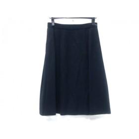 【中古】 ノーブランド スカート サイズM レディース 黒