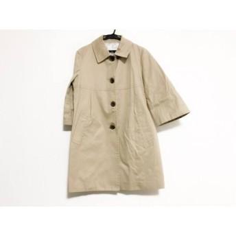 【中古】 スピック&スパン Spick & Span コート サイズ38 M レディース ベージュ 春・秋物/Pour Belle Femme
