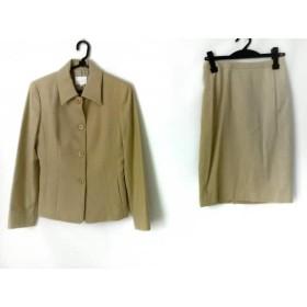 【中古】 ルスーク Le souk スカートスーツ サイズ2 M レディース ベージュ